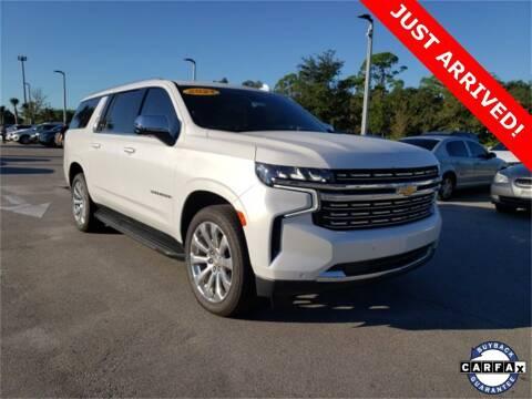 2021 Chevrolet Suburban for sale at PHIL SMITH AUTOMOTIVE GROUP - Toyota Kia of Vero Beach in Vero Beach FL