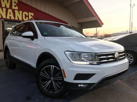 2018 Volkswagen Tiguan for sale at Caspian Auto Sales in Oklahoma City OK