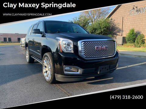 2017 GMC Yukon for sale at Clay Maxey Springdale in Springdale AR