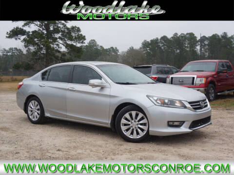 2013 Honda Accord for sale at WOODLAKE MOTORS in Conroe TX