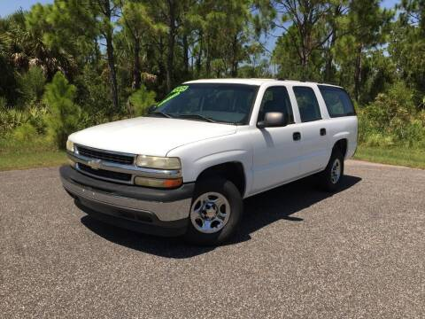 2005 Chevrolet Suburban for sale at VICTORY LANE AUTO SALES in Port Richey FL