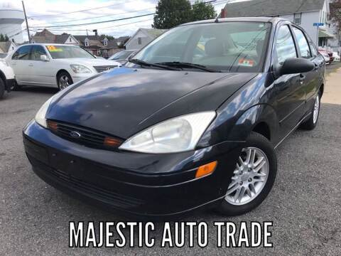 2000 Ford Focus for sale at Majestic Auto Trade in Easton PA