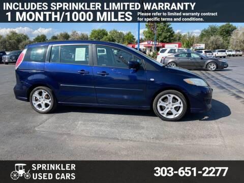 2008 Mazda MAZDA5 for sale at Sprinkler Used Cars in Longmont CO