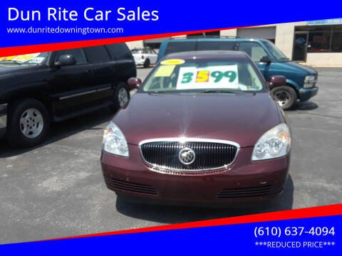 2006 Buick Lucerne for sale at Dun Rite Car Sales in Downingtown PA