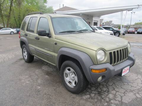 2003 Jeep Liberty for sale at St. Mary Auto Sales in Hilliard OH