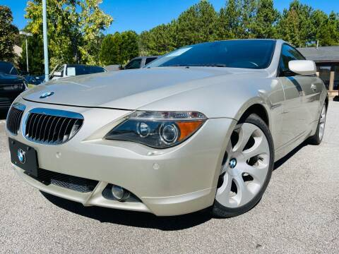 2006 BMW 6 Series for sale at Classic Luxury Motors in Buford GA