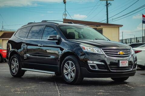 2016 Chevrolet Traverse for sale at Jerrys Auto Sales in San Benito TX