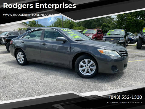2011 Toyota Camry for sale at Rodgers Enterprises in North Charleston SC