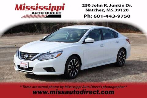 2018 Nissan Altima for sale at Auto Group South - Mississippi Auto Direct in Natchez MS