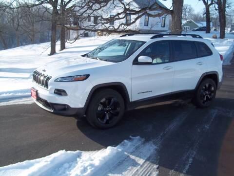 2017 Jeep Cherokee for sale at SHULLSBURG AUTO in Shullsburg WI
