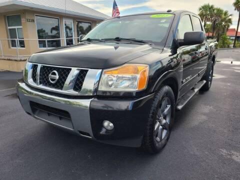 2015 Nissan Titan for sale at BC Motors of Stuart in West Palm Beach FL