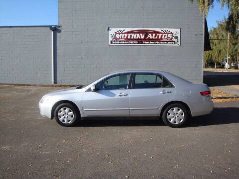 2004 Honda Accord for sale at Motion Autos in Longview WA