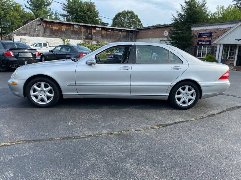 2004 Mercedes-Benz S-Class for sale at Broadway Motor Sales and Auto Brokers in North Chelmsford MA