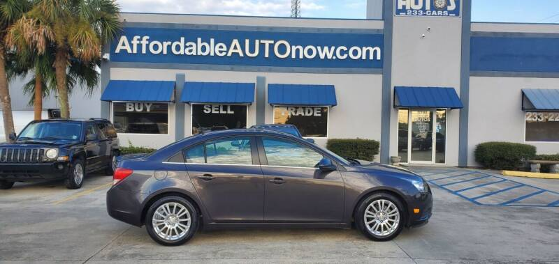 2014 Chevrolet Cruze for sale at Affordable Autos in Houma LA