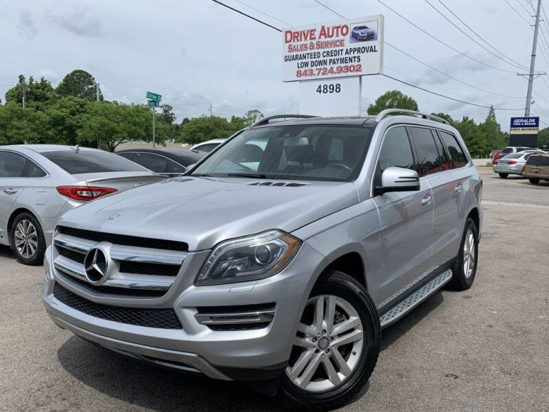 2013 Mercedes-Benz GL-Class for sale at Drive Auto Sales & Service, LLC. in North Charleston SC