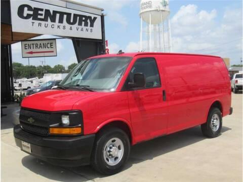 2017 Chevrolet Express Cargo for sale at CENTURY TRUCKS & VANS in Grand Prairie TX