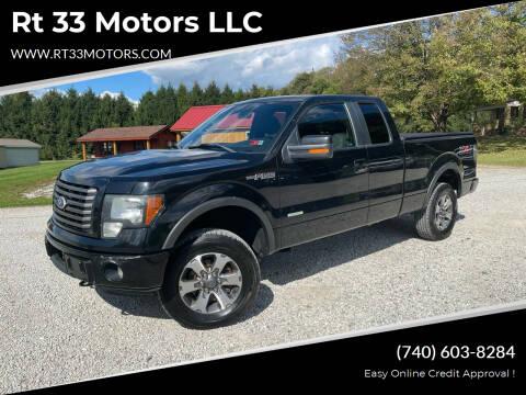 2011 Ford F-150 for sale at Rt 33 Motors LLC in Rockbridge OH