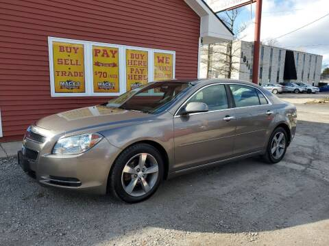 2012 Chevrolet Malibu for sale at Mack's Autoworld in Toledo OH