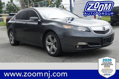 2014 Acura TL for sale at Zoom Auto Group in Parsippany NJ