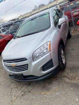 2016 Chevrolet Trax for sale at Bob Luongo's Auto Sales in Fall River MA
