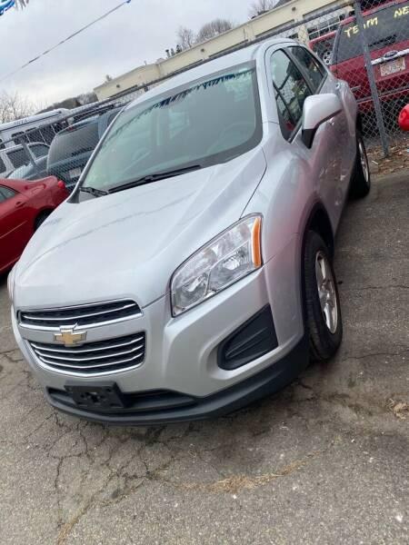 2016 Chevrolet Trax for sale at Bob Luongo's Auto Sales in Fall River MA
