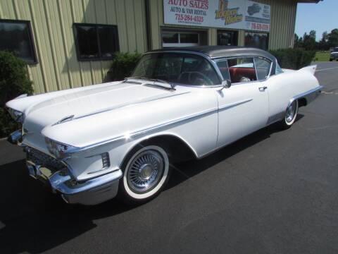1958 Cadillac Eldorado for sale at Toybox Rides in Black River Falls WI