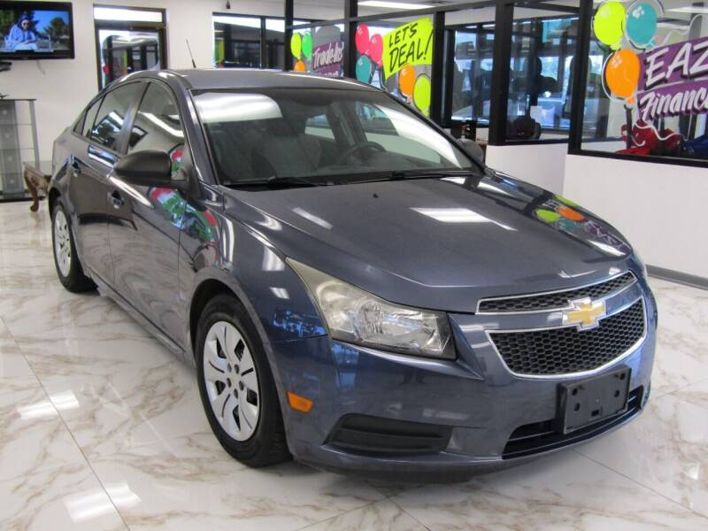 2013 Chevrolet Cruze for sale at Dealer One Auto Credit in Oklahoma City OK