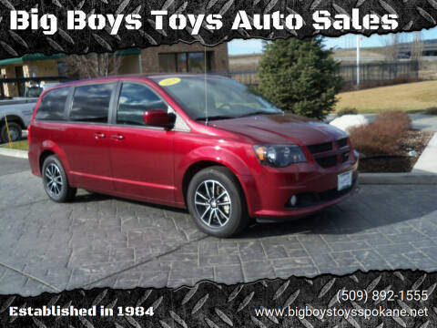 2018 Dodge Grand Caravan for sale at Big Boys Toys Auto Sales in Spokane Valley WA