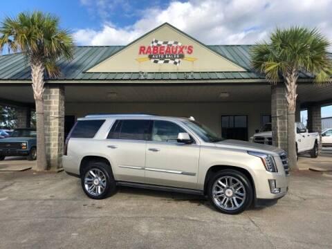 2015 Cadillac Escalade for sale at Rabeaux's Auto Sales in Lafayette LA