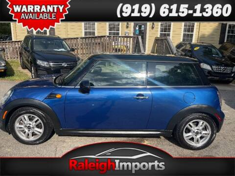 2012 MINI Cooper Hardtop for sale at Raleigh Imports in Raleigh NC