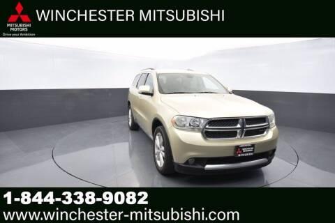 2012 Dodge Durango for sale at Winchester Mitsubishi in Winchester VA