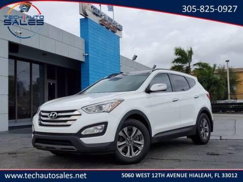 2016 Hyundai Santa Fe Sport for sale at Tech Auto Sales in Hialeah FL