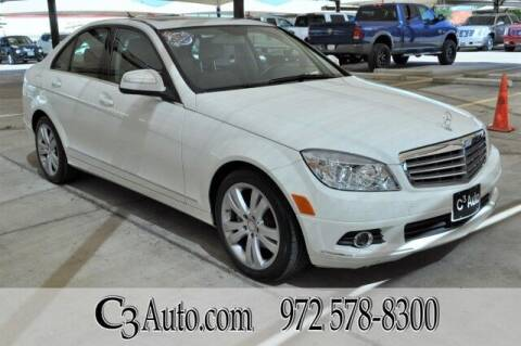 2009 Mercedes-Benz C-Class for sale at C3Auto.com in Plano TX