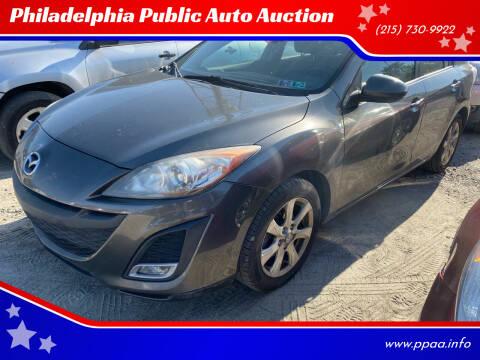 2010 Mazda MAZDA3 for sale at Philadelphia Public Auto Auction in Philadelphia PA