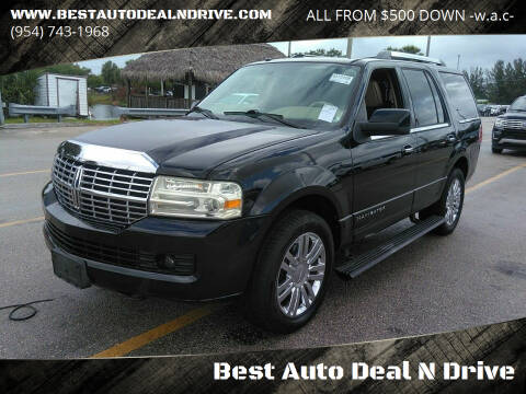 2010 Lincoln Navigator for sale at Best Auto Deal N Drive in Hollywood FL