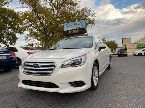 2017 Subaru Legacy for sale at All Star Auto Sales and Service LLC in Allentown PA