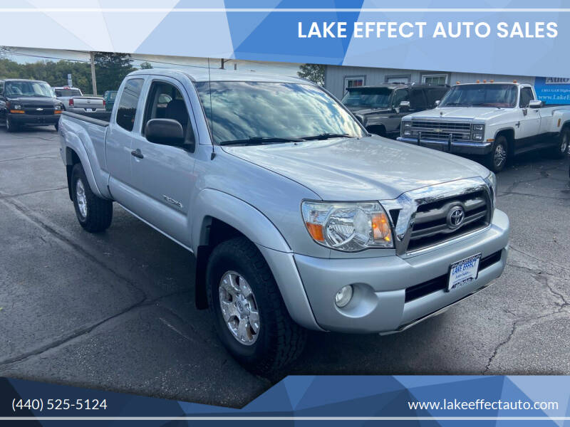 2009 Toyota Tacoma for sale at Lake Effect Auto Sales in Chardon OH