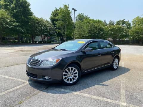 2013 Buick LaCrosse for sale at Uniworld Auto Sales LLC. in Greensboro NC