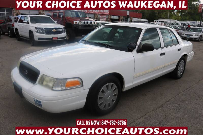 2010 Ford Crown Victoria for sale in Waukegan, IL