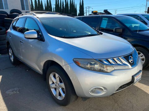 2009 Nissan Murano for sale at CAR GENERATION CENTER, INC. in Los Angeles CA