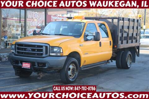 2004 Ford F-350 Super Duty for sale at Your Choice Autos - Waukegan in Waukegan IL