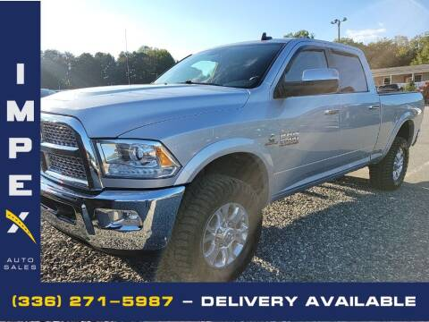 2017 RAM Ram Pickup 2500 for sale at Impex Auto Sales in Greensboro NC