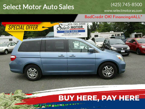 2005 Honda Odyssey for sale at Select Motor Auto Sales in Lynnwood WA