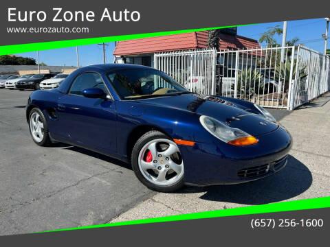 2001 Porsche Boxster for sale at Euro Zone Auto in Stanton CA