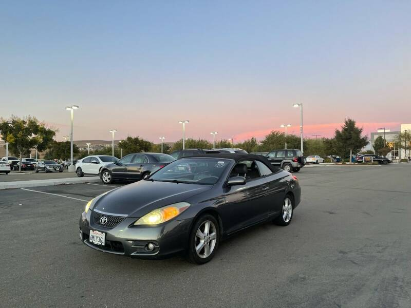 2007 Toyota Camry Solara for sale at Blue Eagle Motors in Fremont CA