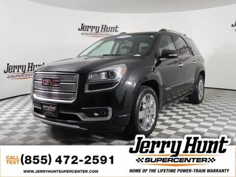 2015 GMC Acadia for sale at Jerry Hunt Supercenter in Lexington NC