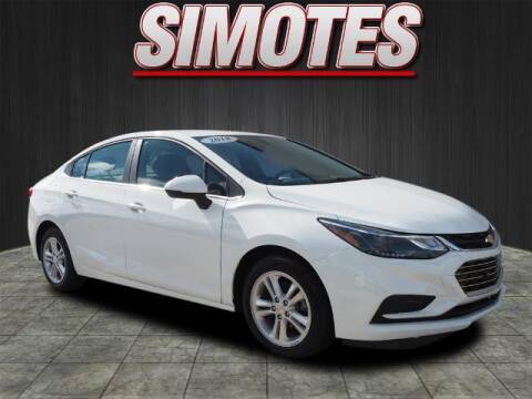 2018 Chevrolet Cruze for sale at SIMOTES MOTORS in Minooka IL