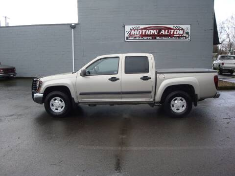2004 Chevrolet Colorado for sale at Motion Autos in Longview WA