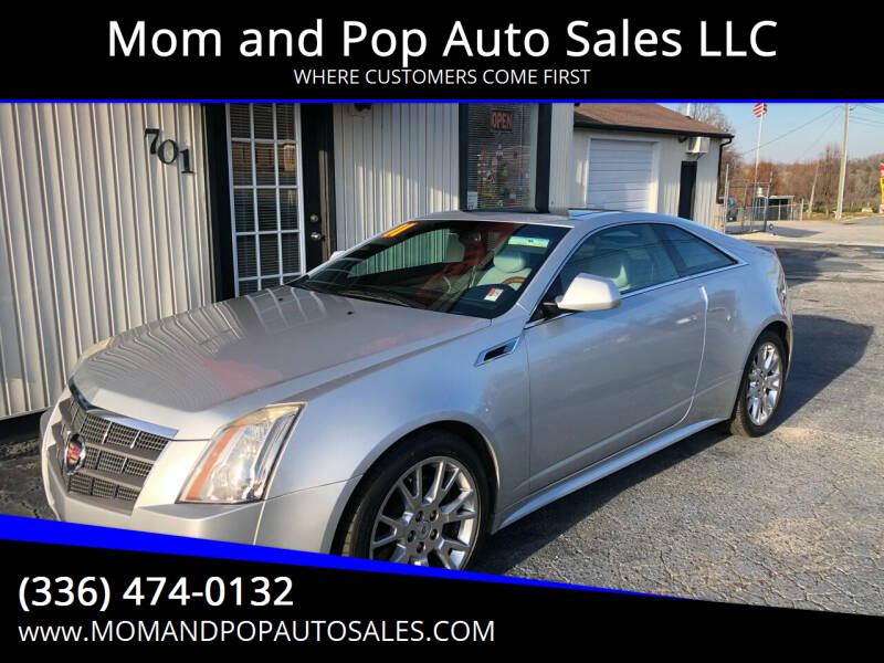 2011 Cadillac CTS for sale at Mom and Pop Auto Sales LLC in Thomasville NC