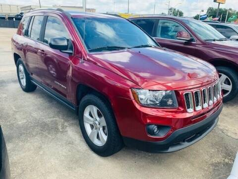 2014 Jeep Compass for sale at Sam's Auto Sales in Houston TX